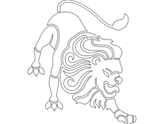 leo Free Dxf for CNC