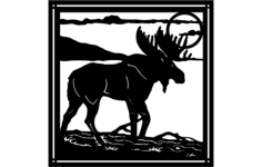 moose 5 Free Dxf for CNC