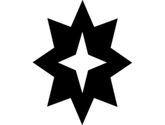 star hollow Free Dxf for CNC