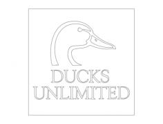 ducks unlimitedFree Dxf for CNC