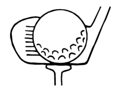golf Free Dxf for CNC