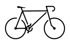 bike Free Dxf for CNC
