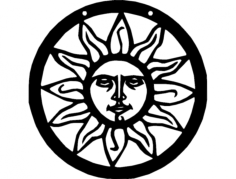 sun Free Dxf for CNC