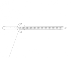 sword Free Dxf for CNC