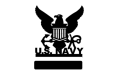 us navy Free Dxf for CNC