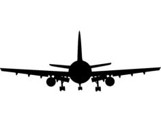 avião Free Dxf for CNC
