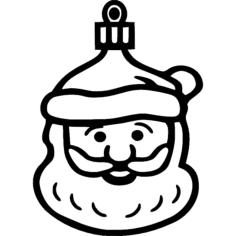 santa Free Dxf for CNC