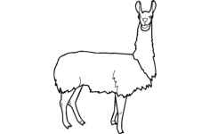 lama Free Dxf for CNC
