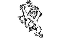 monkey Free Dxf for CNC