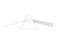dark side (prism) Free Dxf for CNC