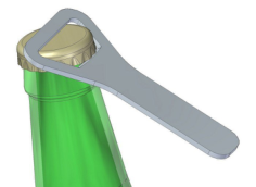 bottle opener 6 Free Dxf for CNC