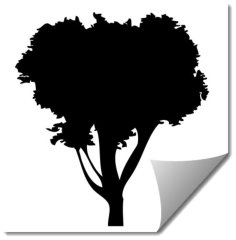 tree 10 Free Dxf for CNC