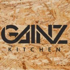 gainz health kitchen logo Free Dxf for CNC