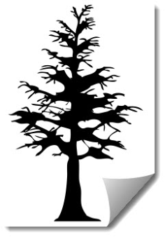 tree 2 Free Dxf for CNC