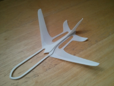 glider Free Dxf for CNC