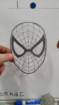 spiderman Free Dxf for CNC