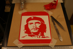 che guevara Free Dxf for CNC