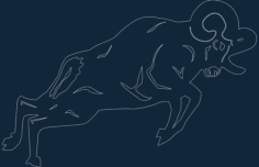 animals 2.33 Free Dxf for CNC
