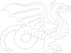 dragon 7 Free Gcode .TAP File for CNC