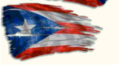 puerto rican flag Free Gcode .TAP File for CNC