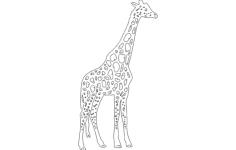 30 giraf Free Gcode .TAP File for CNC
