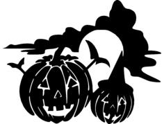halloween-holiday-jackolantern  Free Gcode .TAP File for CNC