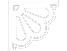 bracket 2 Free Gcode .TAP File for CNC