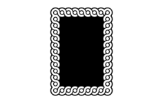 guilloche interlaced band patterns Free Gcode .TAP File for CNC