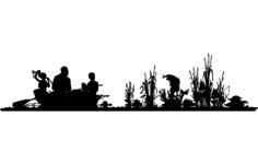 fishing Free Gcode .TAP File for CNC