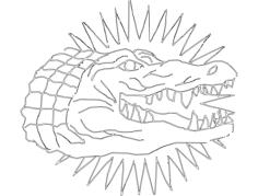 gator Free Gcode .TAP File for CNC