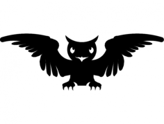 sova uhu (owl) Free Gcode .TAP File for CNC