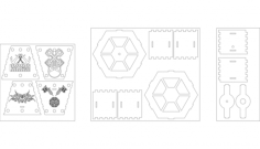 lampada tattoo Free Gcode .TAP File for CNC