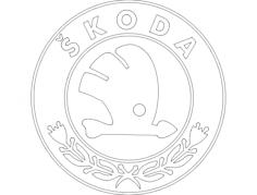 skoda Free Gcode .TAP File for CNC