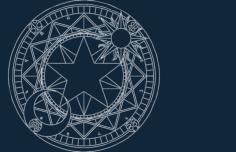sakura magic circle Free Gcode .TAP File for CNC