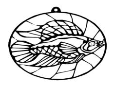 fish Free Gcode .TAP File for CNC