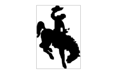 horse and rider Free Gcode .TAP File for CNC