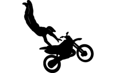 motorcycle stunt Free Gcode .TAP File for CNC