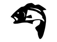 fisherman fish Free Gcode .TAP File for CNC