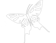 butterfly Free Gcode .TAP File for CNC