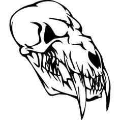 skull 007 Free Gcode .TAP File for CNC