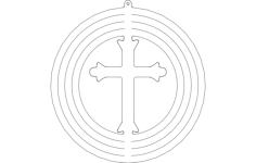 spinner-cross Free Gcode .TAP File for CNC