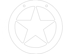 star 1 Free Gcode .TAP File for CNC