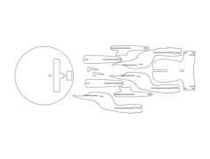 ship Free Gcode .TAP File for CNC