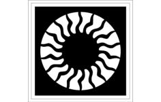 rosette Free Gcode .TAP File for CNC