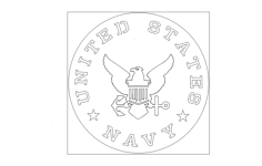 us navy Free Gcode .TAP File for CNC