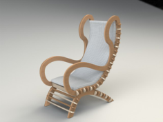 chair 3 19mm.Free Gcode .TAP File for CNC