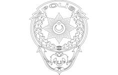 polis logo Free Gcode .TAP File for CNC