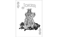 joker 808 Free Gcode .TAP File for CNC