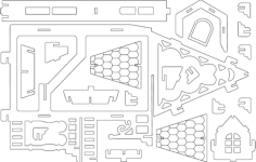 fantasy villas 2 Free Gcode .TAP File for CNC