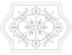 pattern 2 Free Gcode .TAP File for CNC